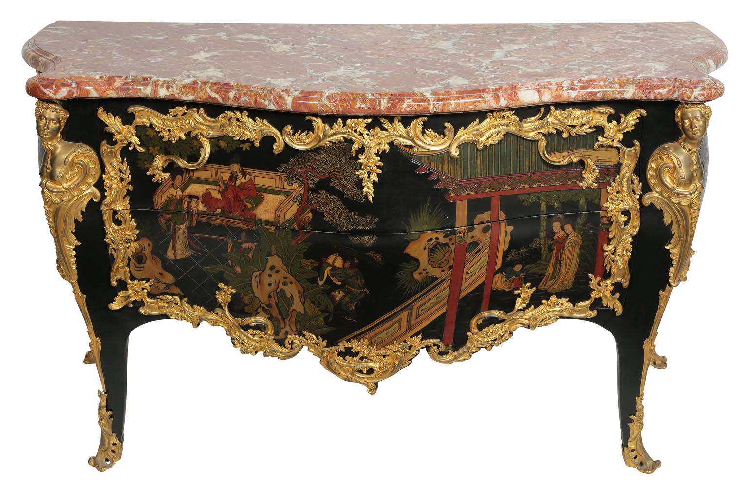 Francois Illas New Tradition: An Extraordinary Fine And Palatial French Louis XV Style
