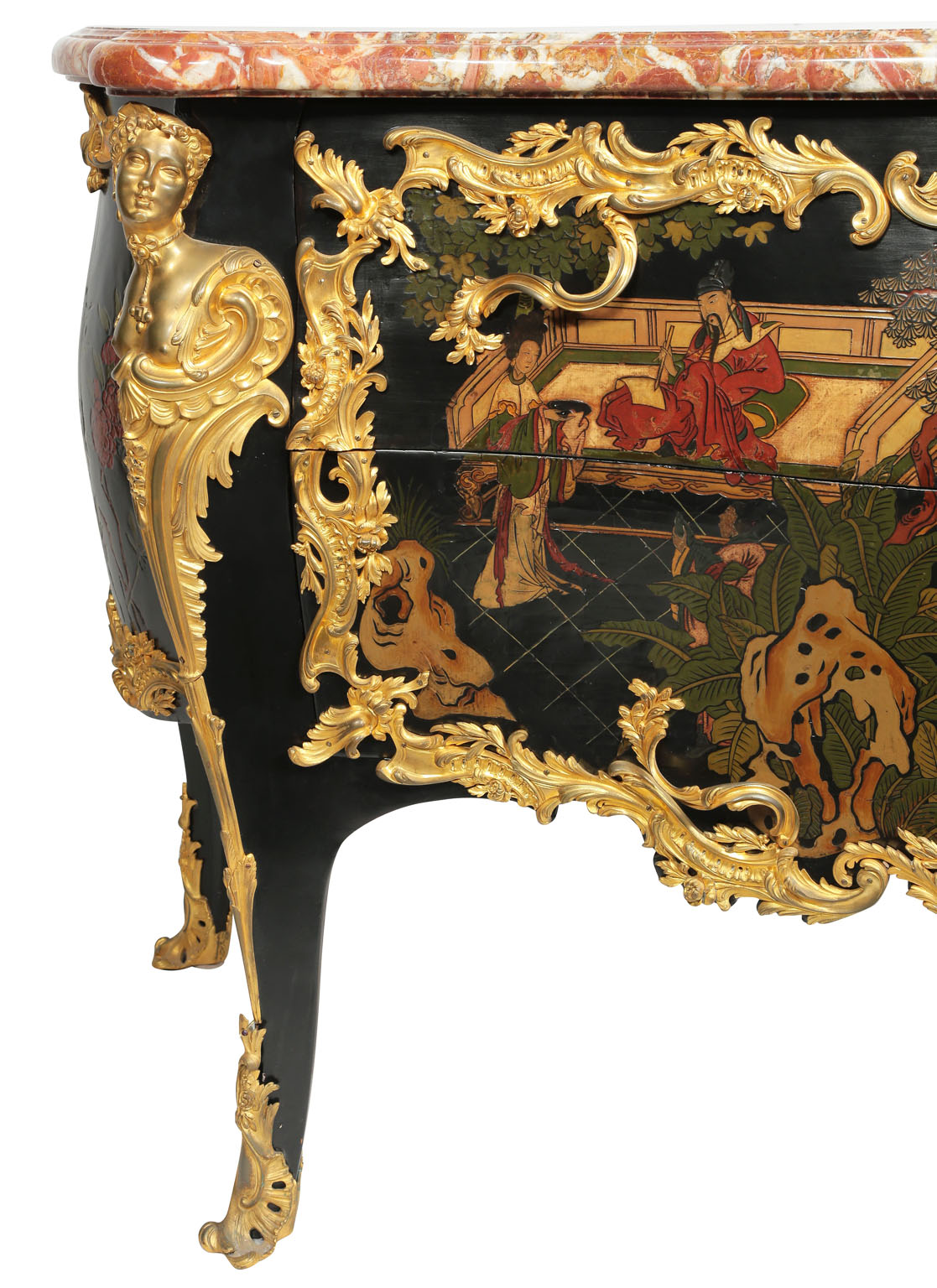 An Extraordinary Fine And Palatial French Louis XV Style