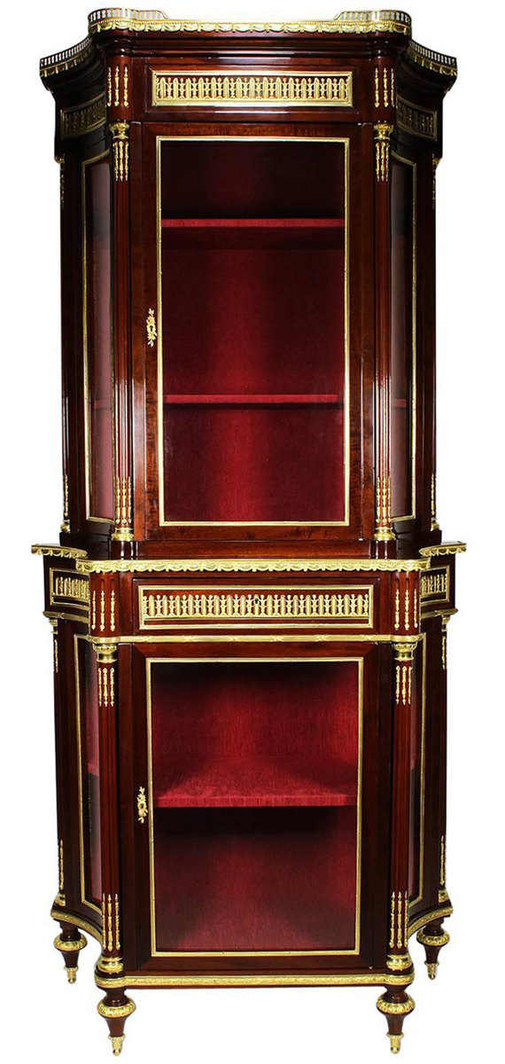 A Fine French 19th Century Louis Xvi Style Mahogany And