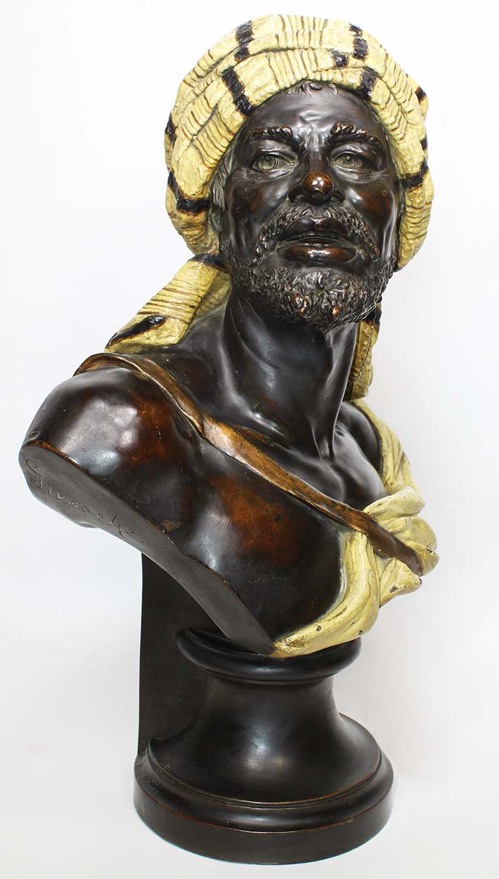 Bronze Le Travail, Signed Moreau For Sale at 1stdibs
