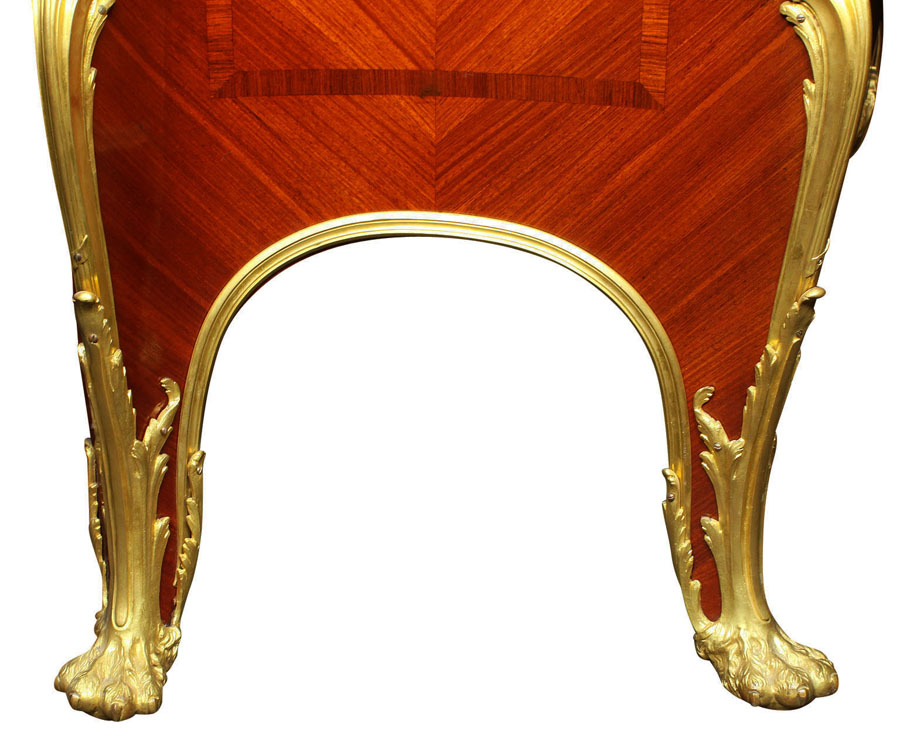 Francois Illas New Tradition: A Superb Quality French 19th Century Louis XV Style Ormolu