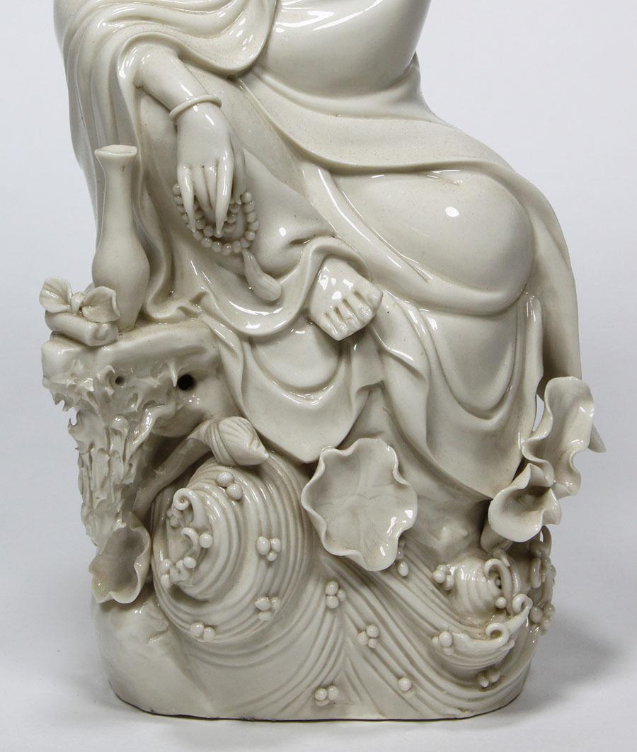 a buddhist chinese blanc
