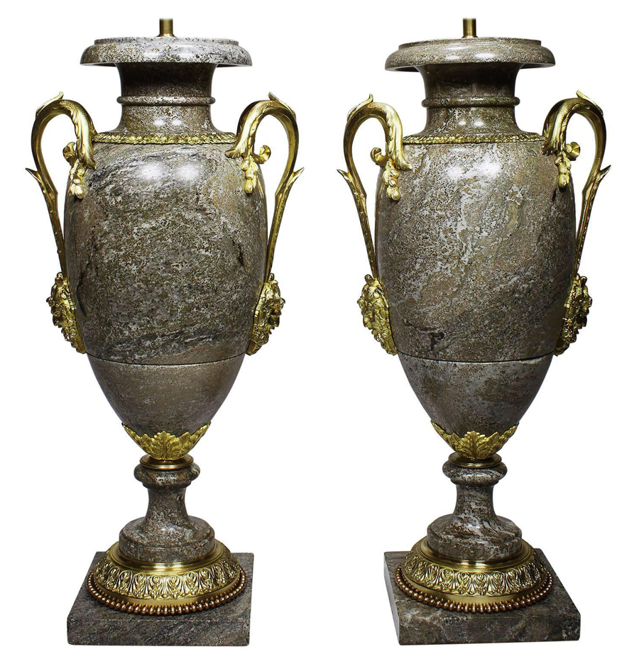 A Very Fine Pair Of French 19th Century Neoclassical Style