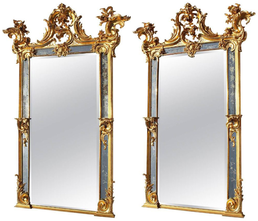 A Very Fine And Important Pair Of French 19th Century