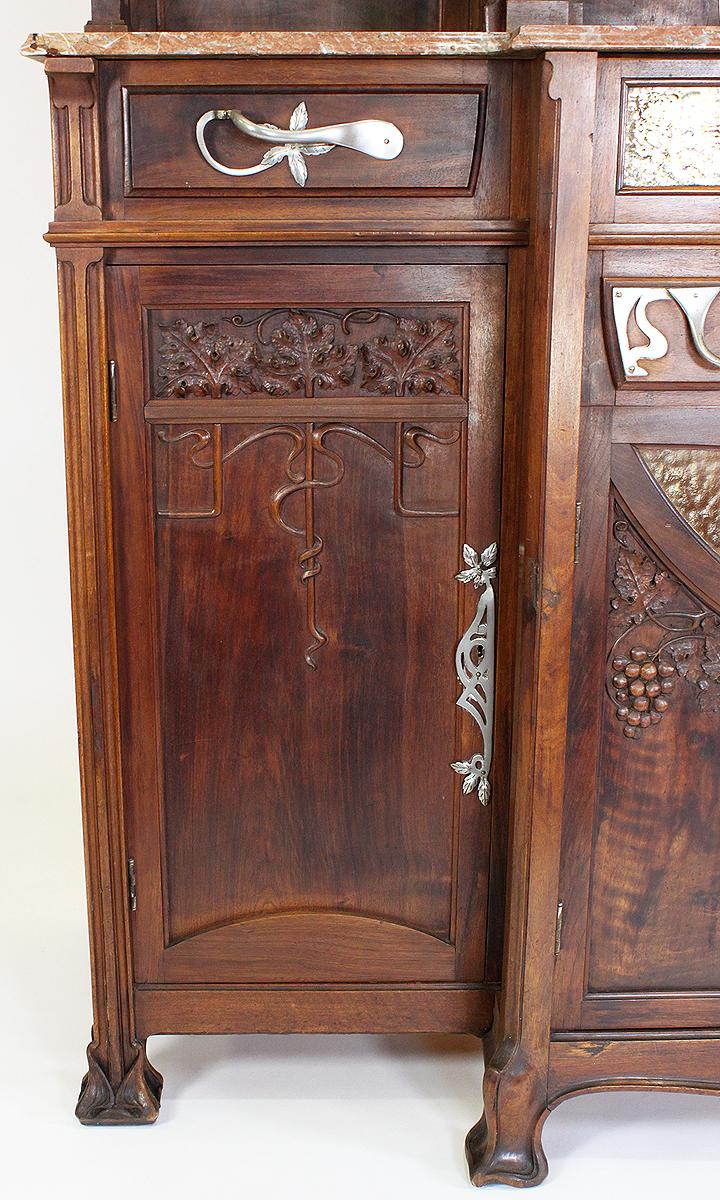 A Fine and Large Italian 19th-20th Century Art Nouveau ...